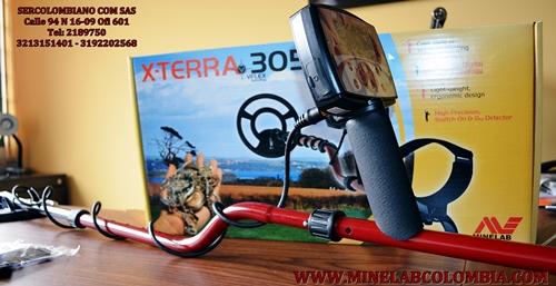 X TERRA 305 MINELAB ....